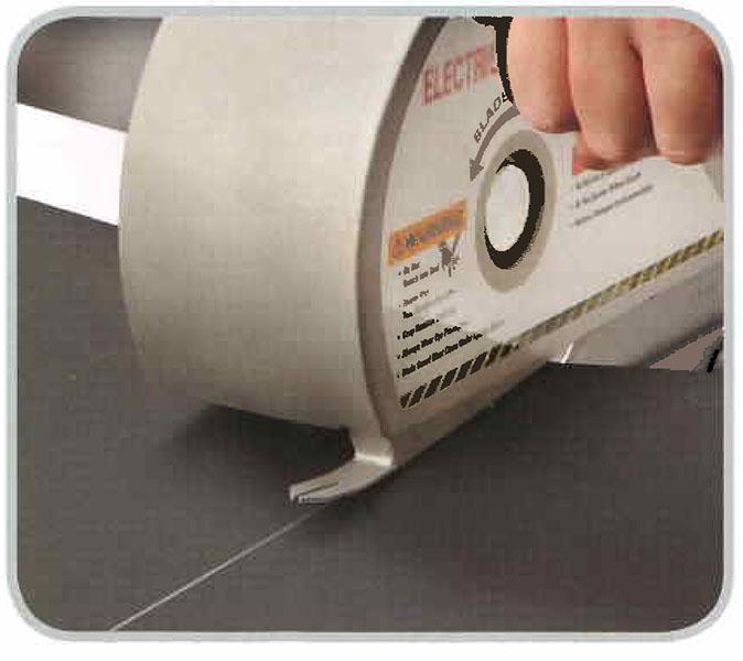 Electric Conveyor Belt Cutter On Dunham Rubber Amp Belting Corp
