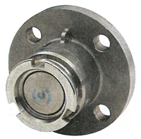 Quick Disconnect adapter x 150# flange w/ FKM (FPM) seals