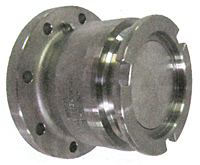 Dry Quick Disconnect Adapter x TTMA flange with FKM (FPM) seals
