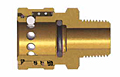 E Series Straight Through Interchange Coupler (Male Threads)-2