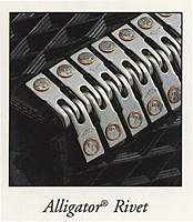 Alligator rivet