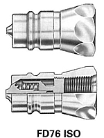 FD76 Series Male Tip-Farm