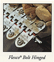 Flexco bolt hinged