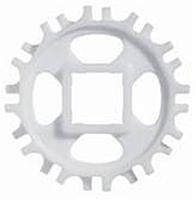 Sprockets For Habasit Plastic Modular Belts On Dunham