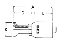 Straight Split Flange Code 62