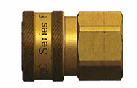 E Series Straight Through Interchange Coupler (Female Threads)