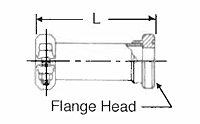 SAE Flange Head Joint for Inch-Size Tube-2