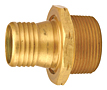 Internally Expanded Permanent Coupling Male Threaded