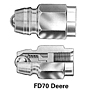 FD 70 Series Male Tip-Farm