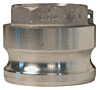 Type A Reduced Cam & Groove Couplings (Male Adapter x Female NPT)