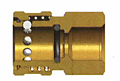 E Series Straight Through Interchange Coupler (Female Threads)-2