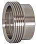 Recessless Threaded Bevel Seat Ferrule